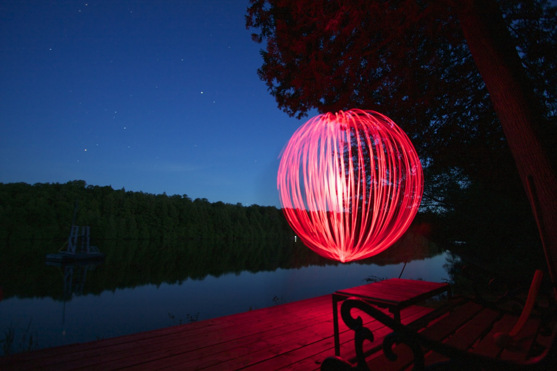 Light Painting Orb
