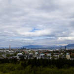 Looking over Reykjavik from Perlan