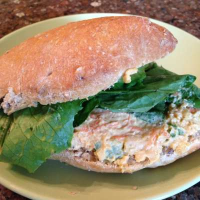 Mashed Chickpea Sandwich Spread