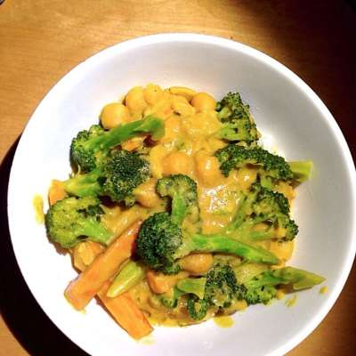 Peanut Broccoli Curry