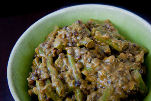 Balti Beans and Lentils