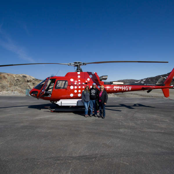 Greenland - Ilulissat Helicopter Tour